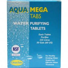 Aquatabs Mega Water Purification Tablets (box of 18)