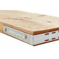 Gangplank Board End Band - Galvanised Metal - (each)