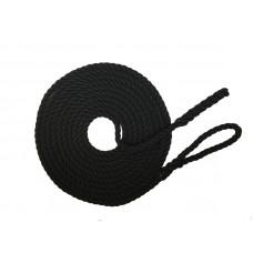 Mooring Rope 12mm x 30 foot - Black