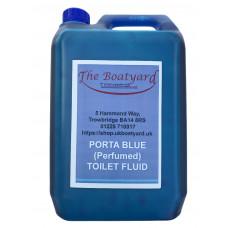 Boatyard Porta Blue Toilet Fluid 5lts - (Perfumed)