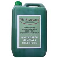 Boatyard Porta Green Toilet Fluid 5lts - (Eco Friendly)