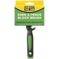 FFJ Shed - Block - Blacking Brush