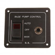 Bilge 3 Way Rocker Switch (illuminated)