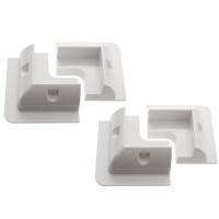 Solar Panel Corner Mounts – White (pack of 4)